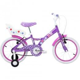 Bicicleta Infantil My Bike 16 Lilás C/ Porta Boneca
