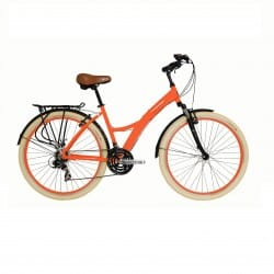 Bicicleta Tito Urban Premium ID Laranja