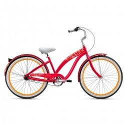 "Bicicleta Nirve Lahaina Cha-Cha Cherry 3V Tam 16"""