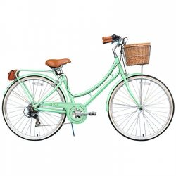Bicicleta XDS Nadine Mint Green 2015 7 velocidades Firmstrong